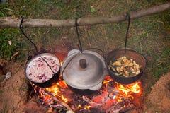 campfire Royalty-vrije Stock Fotografie