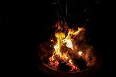 campfire Royalty-vrije Stock Foto's