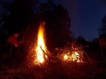 campfire Stock Foto