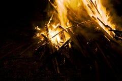 Campfire Royalty Free Stock Photos
