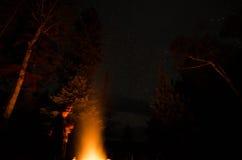 campfire Royalty-vrije Stock Afbeeldingen