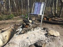 campfire Fotografering för Bildbyråer