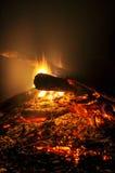 Campfire Closeup Stock Photography
