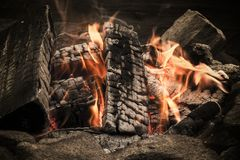 Campfire from Finland stock image
