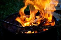 Campfire Flames Stock Photos