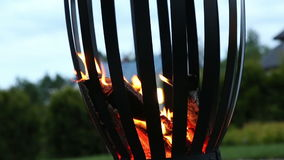 Campfire pagan holiday latvia Midsummer night Ligo Royalty Free Stock Photo