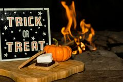 Halloween Smores Royalty Free Stock Photos