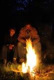 campfirefaderson Royaltyfria Foton