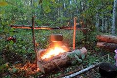 campfires Royalty Free Stock Image