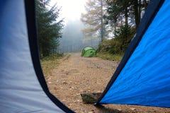 campground Στοκ Φωτογραφίες