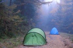campground Στοκ φωτογραφίες με δικαίωμα ελεύθερης χρήσης