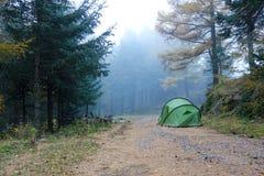 campground Στοκ Φωτογραφία