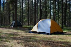 Campground Royalty Free Stock Images