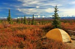 Campground Στοκ Εικόνα