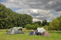 Campground Immagine Stock Libera da Diritti