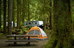 The Campground Stock Photo