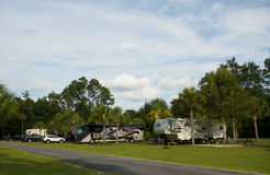 A campground in america Royalty Free Stock Photos