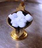 Camphor aarti holder Royalty Free Stock Photos