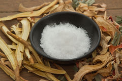 Camphor;used in herbal medicine Stock Image