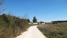 Campi agricoli in autunno Fotografie Stock