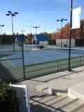 Campi da tennis Immagine Stock