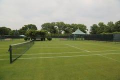 Campi da tennis dell'erba Immagine Stock