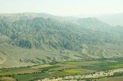 Campi di agricoltura della valle di Nasca Fotografia Stock Libera da Diritti