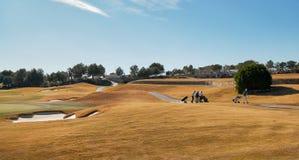 Campi di golf in Spagna immagini stock libere da diritti