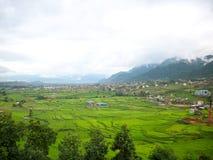 Campi di Kathmandu Fotografie Stock