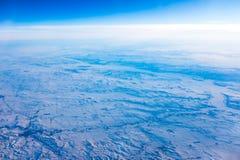 Campi di neve immagini stock