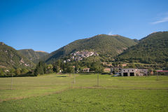 Campi di Norcia village before the earthquake Royalty Free Stock Photo