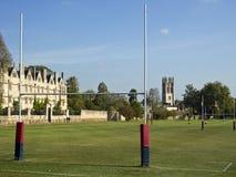 Campi di rugby di Oxford Fotografia Stock Libera da Diritti