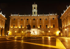 Campidoglio, Capitoline Hill in Rome Stock Images