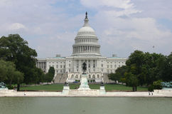 Campidoglio che costruisce, Washington DC Immagine Stock Libera da Diritti