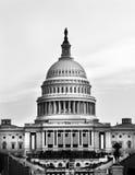 Campidoglio degli Stati Uniti in bianco e nero Immagine Stock