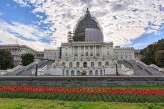 Campidoglio degli Stati Uniti in Washington DC in primavera Immagini Stock Libere da Diritti