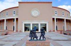 Campidoglio dello stato del New Mexico immagini stock libere da diritti