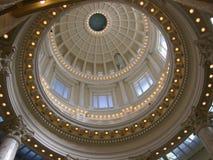 Campidoglio dello stato dell'Idaho rotunda Fotografia Stock
