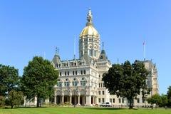 Campidoglio dello stato di Connecticut, Hartford, CT, U.S.A. Fotografia Stock Libera da Diritti