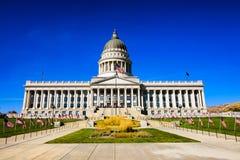 Campidoglio di Salt Lake City fotografia stock libera da diritti