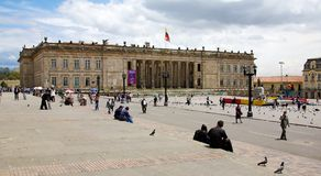 Campidoglio nazionale Colombia Fotografie Stock Libere da Diritti