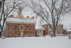 Campidoglio originale dello stato del Delaware fotografie stock libere da diritti