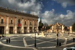 campidoglio Piazza Del Fotografia Stock