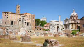 Campidoglio and Roman Forum Royalty Free Stock Photos