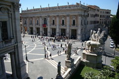 Campidoglio square Stock Photography