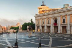 Campidoglio square in Rome, Italy Stock Images