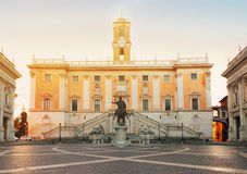 Campidoglio square in Rome, Italy Royalty Free Stock Photography