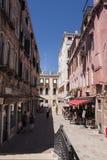 Campiello dei Spezier, Venedig Arkivbild