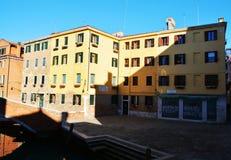 Campiello S. Agostin, Venice, Italy stock photo