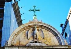 Campiello S. Giovanni, decorative building, Venice, Italy Stock Photography